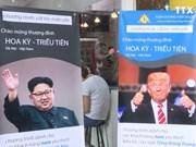 特朗普、 金正恩的发型受越南人的欢迎
