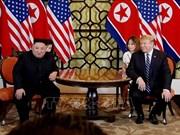 美朝领导人开始第二次会晤的第二个工作日