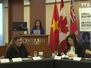 加拿大愿帮助该国企业促进与越南的贸易交流