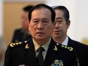 中国国务委员兼国防部长魏凤和对越南进行正式访问