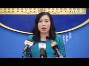 越南外交部举行例行记者会