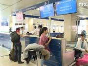 越航为老年人和儿童设值登机专柜