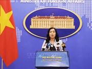 越南坚决反对中方驱赶越南渔船的行为