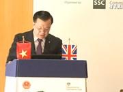 越南金融投资促进会在英国举行