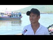 岘港市重拳打击水产品非法捕捞