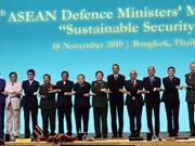 组图:越南出席第六届东盟国防部长扩大会议