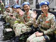 (组图)   欢送越南二号二级野战医院干部赴南苏丹执行任务