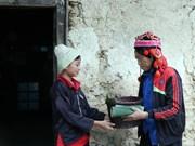 组图:莱州省芒齐边境县份哈尼族同胞欢天喜地迎传统春节