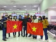 组图:越南将旅居澳大利亚和新西兰的343名越南公民接回国