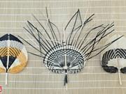 组图:平舍菩提叶扇子制作村居民努力保护传统手工艺业