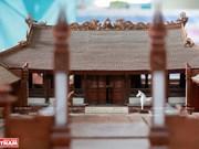组图:越南最小的东京油楠村亭模型