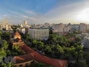 组图:高空俯瞰国家通讯机构大厦