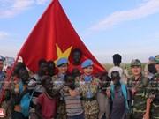 """组图:越南维和部队——世界和平""""使者"""""""