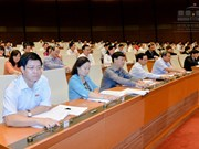 越南第十四届国会第二次会议发表第二十四号公报
