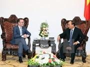 越南政府总理阮春福会见新西兰驻越大使
