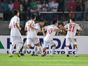 FIFA最新排名:越南队上升7位 居世界第129位