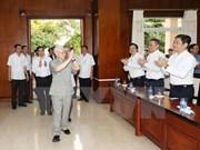 越共中央总书记阮富仲在老挝的活动报道