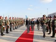 老挝领导:阮富仲对老挝进行的正式友好访问取得圆满成功