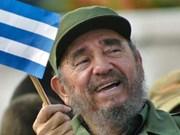 越南国会主席阮氏金银率团出席古巴革命领袖菲 德尔·卡斯特罗的葬礼