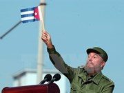 越南国会主席阮氏金银前往古巴出席该国革命领袖菲德尔·卡斯特罗的葬礼