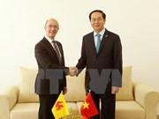 陈大光主席分别与比利时和埃及领导举行双边会晤