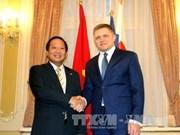越南与斯洛伐克加强合作, 提升两国关系水平