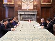 日本国会领导会见越共中央组织部部长范明政