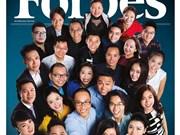 """越南一名蒙族少女跻身《福布斯》""""30岁以下30位俊杰""""榜单"""