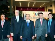阮春福总理出席亚行成立50周年纪念典礼