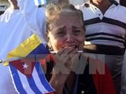 古巴前领导人菲德尔·卡斯特罗葬礼在古巴圣地亚哥举行