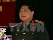 越南高级军事代表团对印度进行正式友好访问