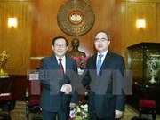 进一步促进越南祖国阵线与中国全国政协的关系
