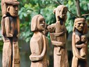 嘉莱省复活嘉莱族与巴拿族同胞的民间木雕工艺