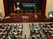 胡志明市第九届人民议会第三次会议拉开序幕
