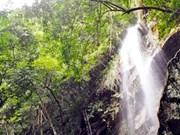 越南广宁省安子山金瀑布 无限美景在路上
