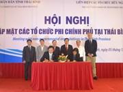 太平省力争到2017年将有20多个外国非政府组织赴该省开展长期项目