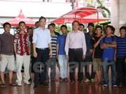 印尼将57名越南渔民释放回国