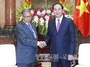 国家主席陈大光:将越马双边贸易额提升至150亿美元