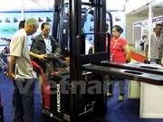 越南工业产品、原材料及机械设备国际展览会拉开序幕
