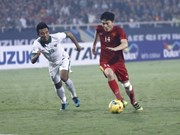 2016年东南亚男足锦标赛半决赛: 印尼队以两回合4比3的总比分击败越南队