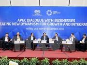 APEC领导与工商界对话会:为企业增长和对接创造新动力