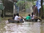 暴雨引发洪水 使中部地区各省数千户家庭陷入困境