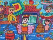 """""""展翅腾飞""""绘画比赛总结颁奖仪式在河内举行"""