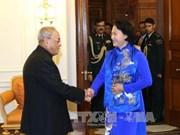 越南国会主席阮氏金银圆满结束对印度进行的正式访问
