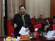 国会常务副主席丛氏放和各国驻越女大使赴山罗省考察调研