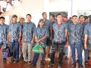 印尼将39名越南渔民释放回国
