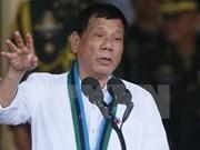 菲律宾民众对总统杜特尔特的满意度高