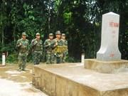 越南平福省与柬埔寨三省加强合作共建和平边界线