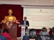 越南驻法大使馆举行旅法越南专家、科学家与社会活动家见面会