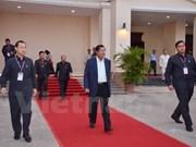 第五届柬埔寨执政党人民党第40次中央委员会大会落下帷幕